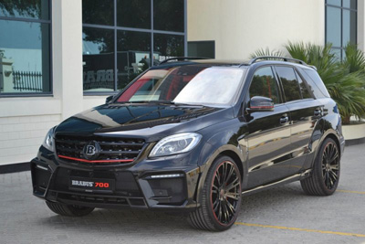 Brabus обновил Mercedes-Benz ML63 AMG 700